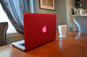 The pink mac book